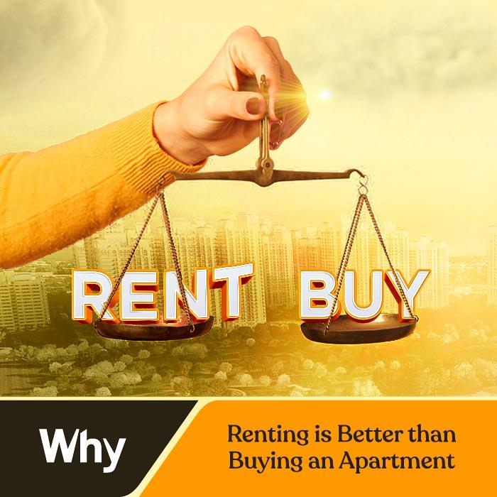 DLF Capital Greens rent